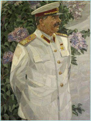 Мозаичный портрет И.В.Сталина в Волгоградском планетарии