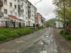 Улица Вилюйская. Петропавловск-Камчатский