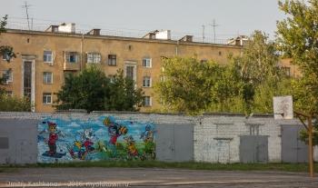 Нижний Новгород. Стрит-Арт и граффити. Фото