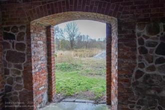 Форбург замка Прёйсиш-Эйлау. Выход на территорию замка