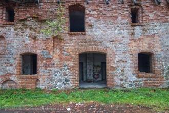 Багратионовск. Форбург замка Прёйсиш-Эйлау. Вход