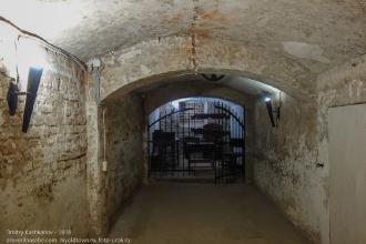 Подвал средневекового замка. Камера пыток