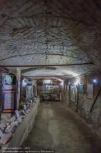 Кирпичный сводчатый потолок подвала Янтарного замка