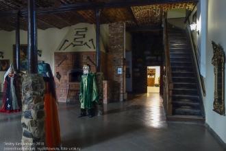 Калининградская область. Янтарный замок. Каминный зал