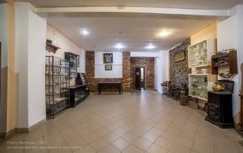 Янтарный замок. Выставочный зал на 1 этаже