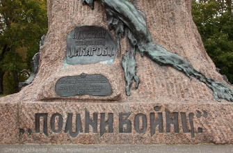 Памятники Кронштадта