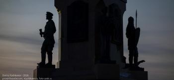 Памятник 1000-летию Ярославля на Стрелке. Фрагмент
