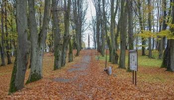 Багратионовск. Парк вокруг памятника в честь сражения при Прёйсиш-Эйлау. 1807 год