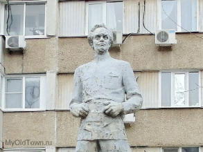 Памятник Куйбышеву. Фрагмент. Фото Волгограда