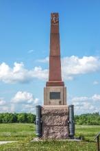 Памятник батарейной №2 и легкой №2 ротам лейб-гвардии Артиллерийской бригады. Установлен в 1912 году