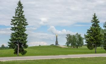 Бородинское поле. Главный монумент