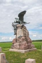 Бородино. Памятник Кавалергардскому и лейб-гвардии Конному полкам. 1912 г.