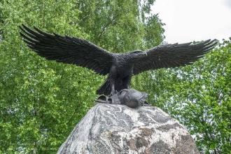 Бородино. Памятник Храбрым офицерам и низшим чинам его Величества Кирасирского полка