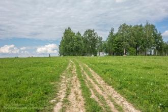 Бородинское поле. Памятники над могилами