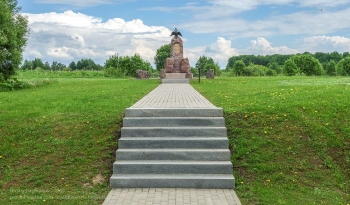 Бородинское поле. Памятник 4 кавалерийскому корпусу