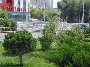 Сквер на Бакинской. Медведи. Лето 2017 года