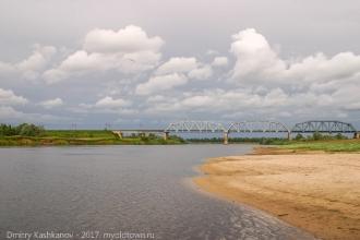Мост через Клязьму в районе д. Галицы. Фото