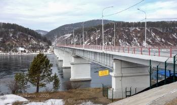 Автодорожный мост через Енисей
