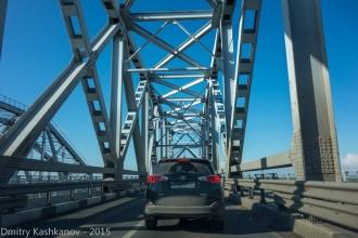 Проезжая по старому Борскому мосту