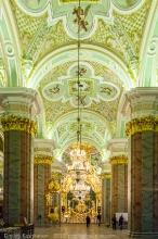 Петропавловский собор в Санкт-Петербурге. Фото внутри