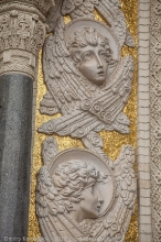 Оформление фасада Морского собора