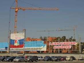 Собор Александра Невского в Волгограде. Август 2017 года