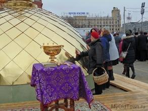Собор Александра Невского в Волгограде. Апрель 2019 года