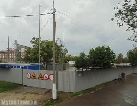 Собор Александра Невского в Волгограде. Фото строительной площадки. Май 2016 года
