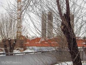Собор Александра Невского в Волгограде. Февраль 2017 года