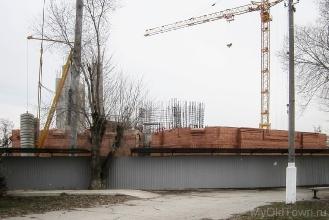 Собор Александра Невского в Волгограде. Март 2017 года