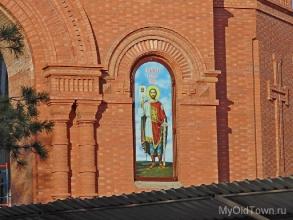 Собор Александра Невского в Волгограде. Сентябрь 2017 года