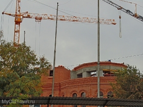 Собор Александра Невского в Волгограде. Октябрь 2017 года