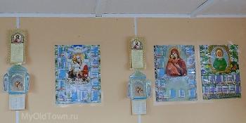 Собор Александра Невского в Волгограде. Церковная лавка. Декабрь 2017 года