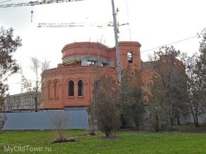 Собор Александра Невского в Волгограде. Декабрь 2017 года