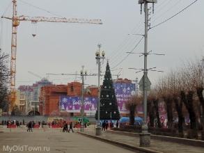 Собор Александра Невского в Волгограде. Январь 2018 года