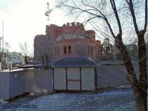 Собор Александра Невского в Волгограде. Февраль 2018 года