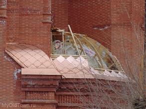 Собор Александра Невского в Волгограде. Апрель 2018 года
