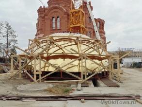 Собор Александра Невского в Волгограде. Ноябрь 2018 года