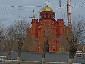 Собор Александра Невского в Волгограде. Февраль 2019 года