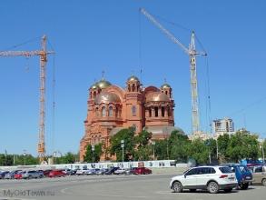 Собор Александра Невского в Волгограде. Июнь 2019 года
