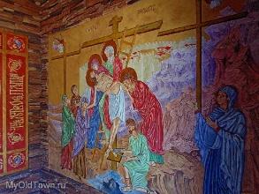 Село Лог. Церковь Петра и Павла. Часовня