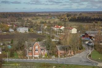 Правдинск. Георгиевская церковь. Виды со смотровой площадки