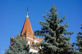 Купол Георгиевской церкви в Правдинске