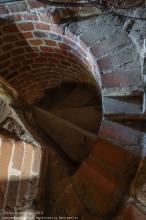 Правдинск. Георгиевская церковь. Вход на винтовую лестницу