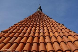 Правдинск. Георгиевская церковь. Черепичный купол церкви