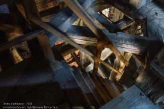 Правдинск. Георгиевская церковь. Спуск со смотровой площадки