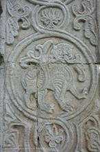 Оформление стен собора в Юрьев-Польском. Фигурка льва