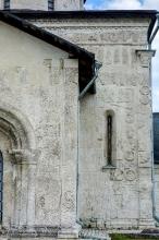 Георгиевский собор. Правая часть северного портала. Резьба по камню