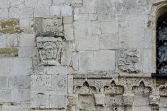 Георгиевский собор. Старинная резьба по камню на фасаде