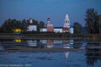 Свято-Троицкий Островоезерский монастырь. Вечерняя служба